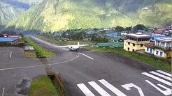 Sita Air 9N-AHA take off at Lukla Airport