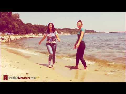 Yo & Yvonne: wet at sea