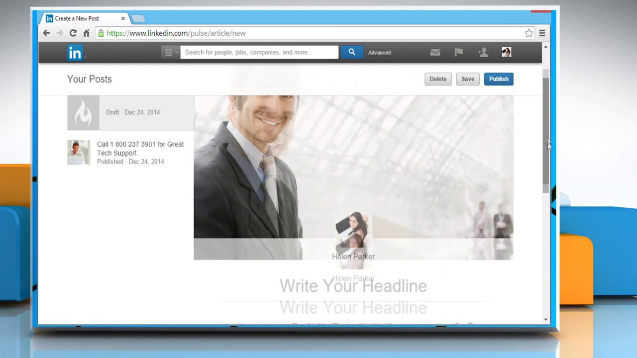 How To Share A Link In Linkedin�