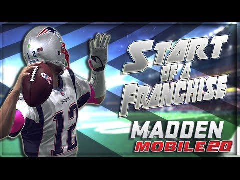 Madden Mobile 20 Franchise Mode Starting The Season Ep 1!!