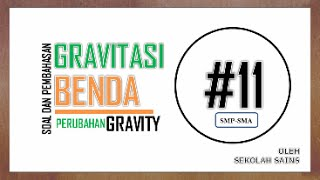 Video Percepatan Gravitasi satelit di atas permukaan Bumi - Soal dan Pembahasan  Gravitasi #11 download MP3, 3GP, MP4, WEBM, AVI, FLV Juli 2018