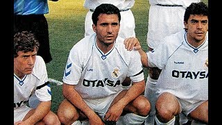Gheorghe HAGI in Real Madrid Vs Barcelona (1991) // Highlights