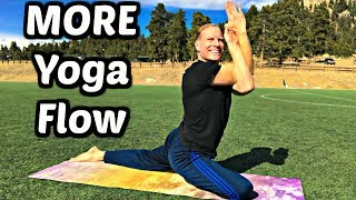 MORE Eagle Yoga Flow - 10 Min Total Body Workout (part 2 of 2)