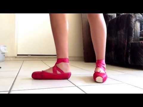 Red Pointe Shoes : Grishko Maya's