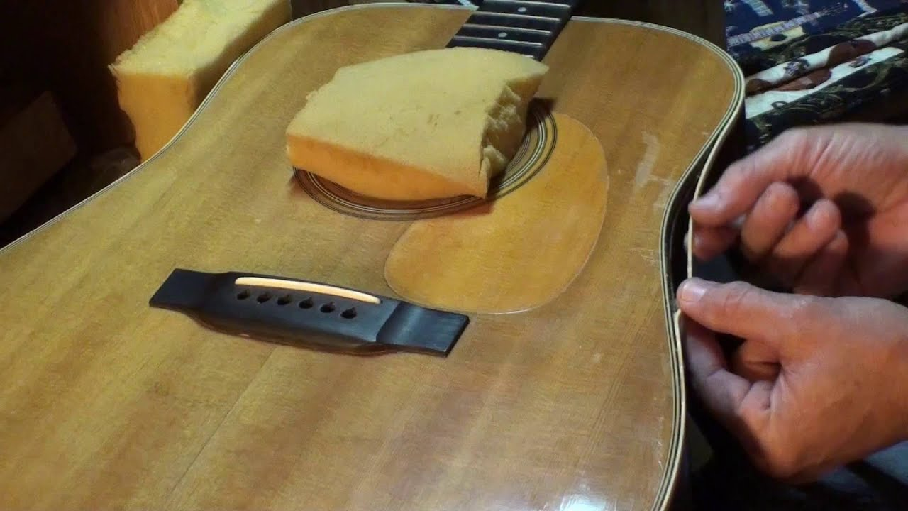 guitar binding repair martin d28 by randy schartiger youtube. Black Bedroom Furniture Sets. Home Design Ideas