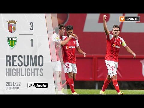 Braga Tondela Goals And Highlights