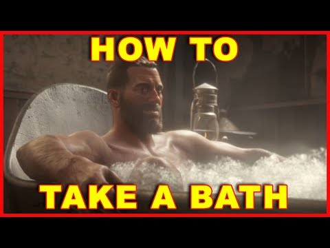 Red Dead Redemption 2: How to Take a Bath
