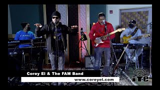 """Corey El & FAM Band Cover """"Can't Believe It"""" by T-Pain on Shockoe Sessions Live"""