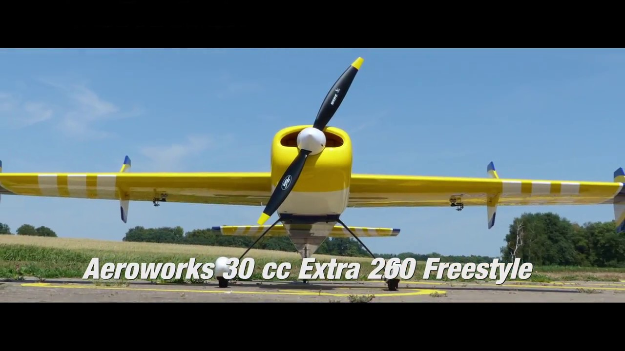 30cc Freestyle Extra 260 QB L Von Aero Works Hepf