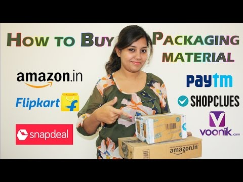 How to Buy Shipping & Packaging Material for Flipkart, Amazon, Snapdeal,Paytm