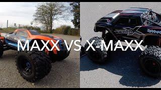 Traxxas Maxx versus X-Maxx