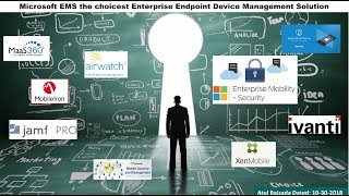 Gambar cover Microsoft EMS (Enterprise Mobility+Security) vs other MDM Solutions