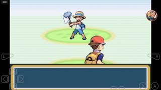 Pokémon fire red#2 derrotando o líder brock evoluindo nosso charmander