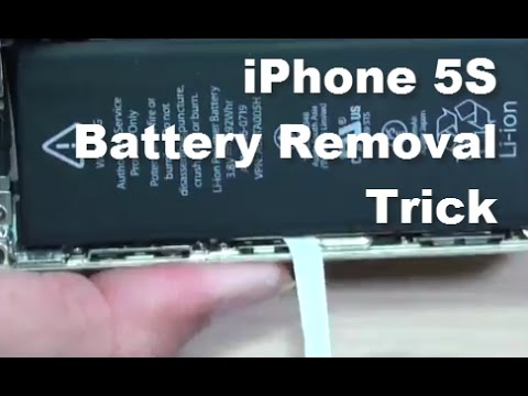 battery for iphone 5s iphone 5s trick to remove battery easily 13554
