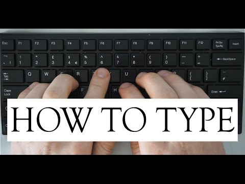 Learn How To Touch Type for FREE