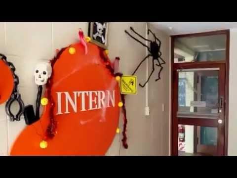 Halloween Decoration @ Intern New Zealand Office