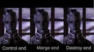 Mass Effect 3: Original Endings Side-by-side