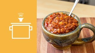 Silently Cooking - Chicken & White Bean Chili