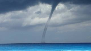 Greece Lefkada Levkas Egremni Tornado The Beginning by Sibep