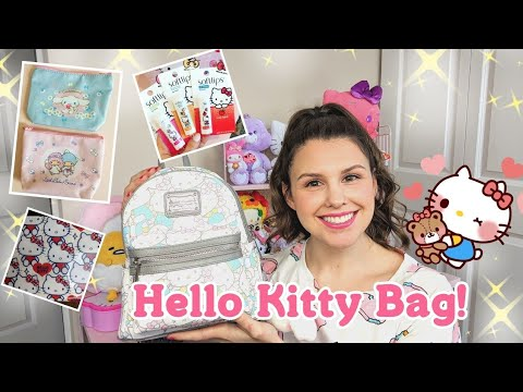 What's In My Bag? Hello Kitty Mini Backpack!