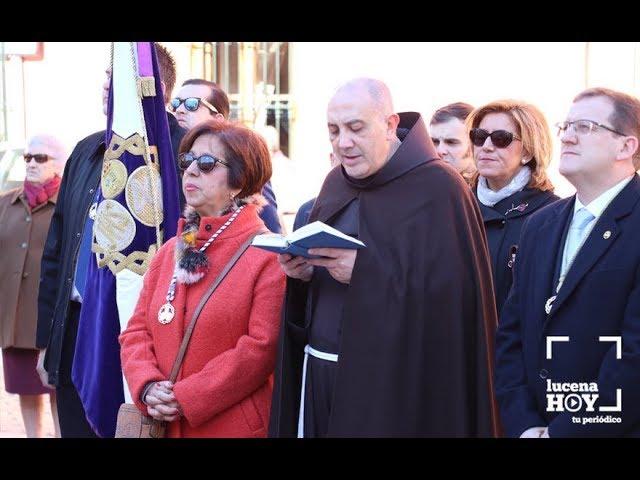 VÍDEO: La Agrupación de Cofradías de Lucena celebra el Día de la Inmaculada Concepción