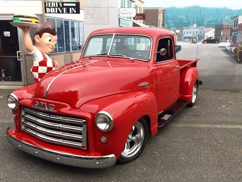 1949 GMC 5 Window Pickup  SOLD  Drager's International Classic Sales  206-533-9600