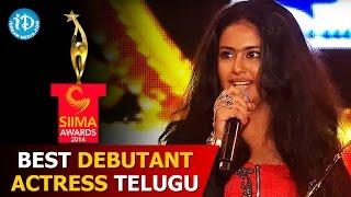 SIIMA 2014 - Best Debutant Actress Telugu | Avika Gor | Uyyala Jampala