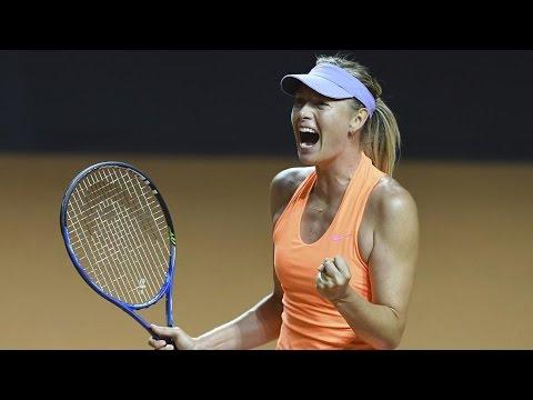 Maria Sharapova wins Italian Open Rd 1, makes Wimbledon qualifiers