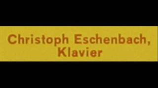 Chopin / Christoph Eschenbach: Preludes, Op. 28 - No. 23 in F major, No. 24 in D minor - 1978