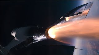 У границы космоса: челнок SpaceShipTwo взлетел на высоту более 80 км