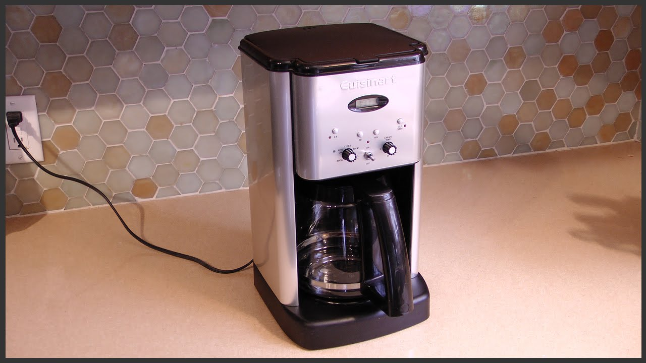 Cuisinart Coffee Maker Problems Leaking : Cuisinart Coffee Maker Self Clean Feature FunnyDog.TV