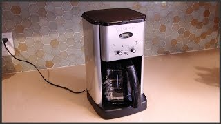 Cuisinart Coffee Maker Self Clean Feature