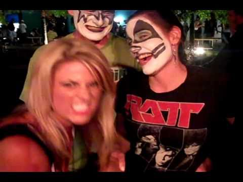 FM99 Rock Girl Lindsay Rock and Rolls all Nite at KISS