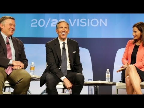 ASU GSV Summit: Howard Schultz and Dr. Michael Crow Keynote Panel with Rebecca Jarvis, ABC