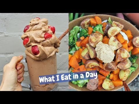 WHAT I EAT IN A DAY | High Raw HCLF
