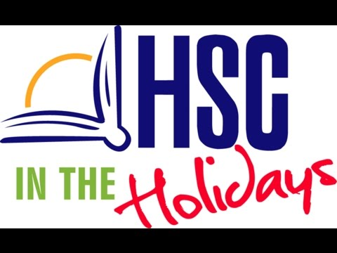 HSC in the Holidays - Lecture Highlights