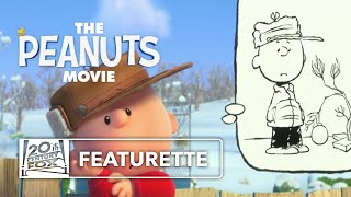The Peanuts Movie | How to Draw Charlie Brown Featurette | 20th Century Fox [HD]