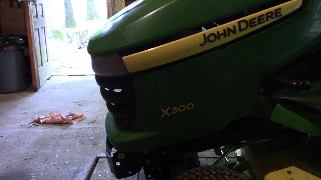 John Deere x300 Tuff torq transaxle fix