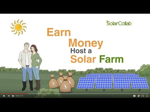 Earn Money Hosting A Solar Farm On Your Vacant Land.
