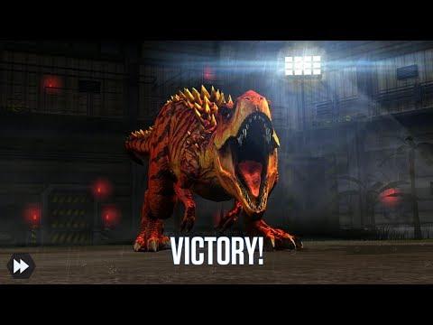 Jurassic World Game Mobile #12:  Tyrannosaurus Rex Max Evolved ăn hành phê luôn ^^