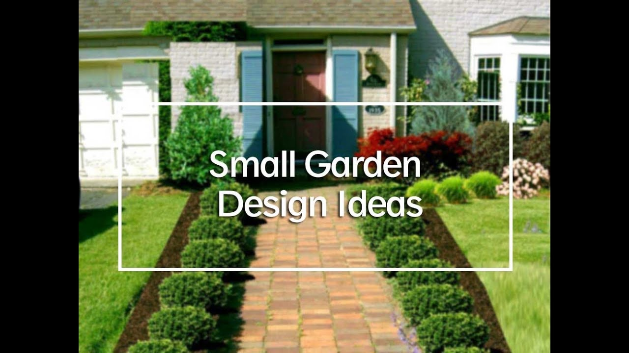 TOP 20 Beautiful Small Front Garden Design Ideas - YouTube on Small Backyard Layout id=33763