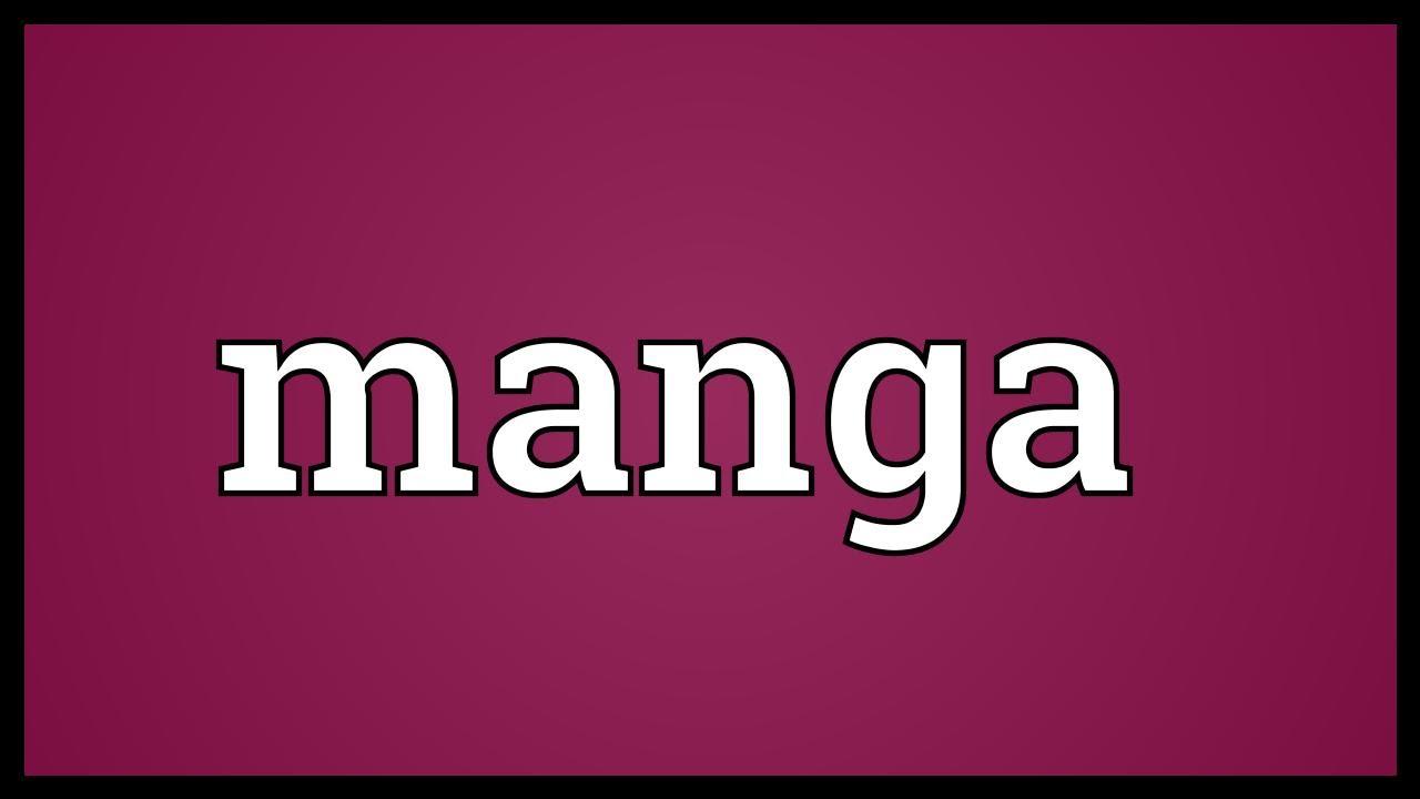 Manga meaning