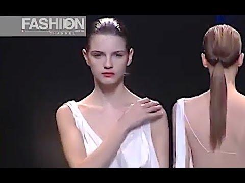 CERRUTI Spring Summer 2003 Paris - Fashion Channel