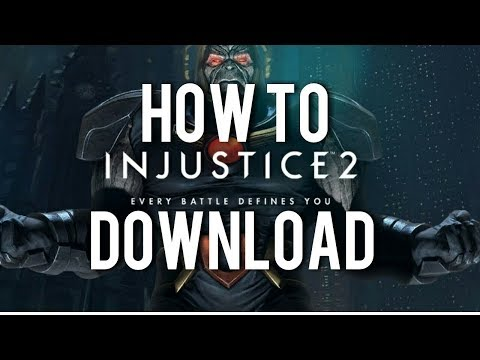 How To Download And Install Injustice 2 PC||Cracked||100% Working.