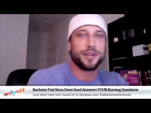 Bachelor Pad Season Winner Dave Good Answers Fan Questions - Bachelor pad season 1 winner