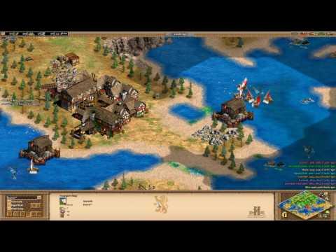 Age Of Empires 2 HD - 2v6 Spanish Vills OP
