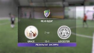 Обзор матча Grace 13 1 Leicester R CUP Турнир по мини футболу в Киеве