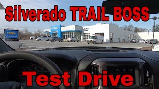 2019 Silverado Trail Boss Custom - Test Drive