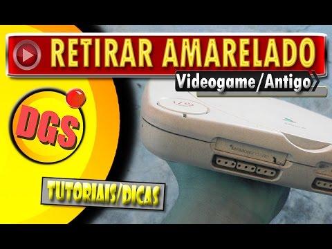🔸 Como Tirar O Amarelado Dos Consoles De Video Games Antigos