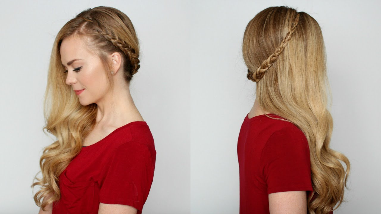 Bohemian Sideswept Dutch Braid Missy Sue Youtube